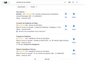 google meu negócio 2