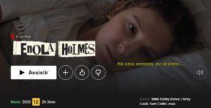 capa da serie Enola Holmes, conteúdo interativo da netflix